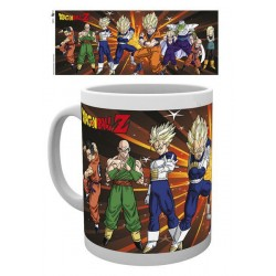 Dragonball Z mug Fighters