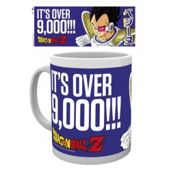 Dragonball Z mug Its Over 9000