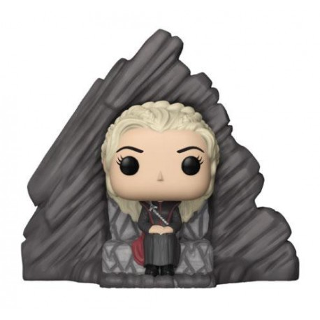 Le Trône de fer POP! Rides Vinyl figurine Daenerys on Dragonstone Throne 15 cm