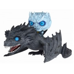 Le Trône de fer POP! Rides Vinyl figurine Night King & Viserion 15 cm