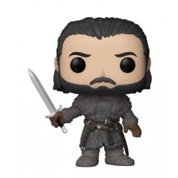Le Trône de fer POP! TV Vinyl Figurine Jon Snow (Beyond the Wall) 9 cm