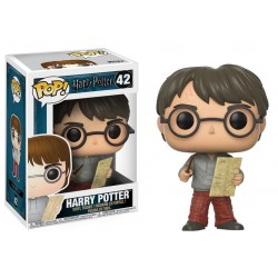 Harry Potter POP! Movies Vinyl figurine Harry Potter with Marauders Map 9 cm