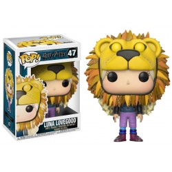 Harry Potter POP! Movies Vinyl figurine Luna Lovegood with Lion Head 9 cm