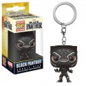 Black Panther Movie porte-clés Pocket POP! Vinyl Black Panther 4 cm