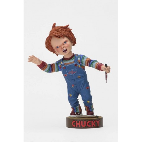 Chucky Jeu d´enfant Head Knocker Chucky with Knife 18 cm