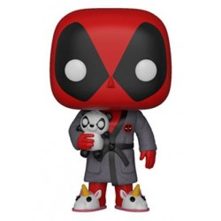 Deadpool Parody POP! Marvel Vinyl figurine Deadpool in Robe 9 cm