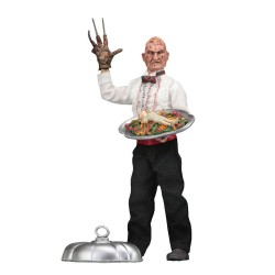 Nightmare On Elm Street 5 figurine Retro Chef Freddy 20 cm