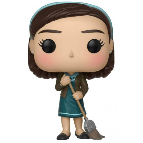 La Forme de l'eau Figurine POP! Movies Vinyl Elisa with Broom 9 cm