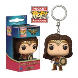 Wonder Woman Movie porte-clés Pocket POP! Vinyl Wonder Woman 4 cm