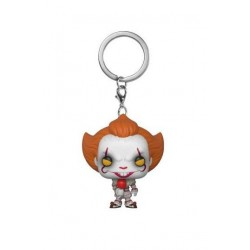 « Il » est revenu 2017 porte-clés Pocket POP! Vinyl Pennywise with Balloon 4 cm