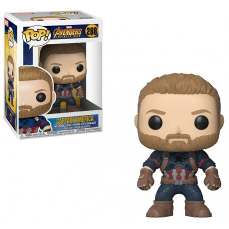 Avengers Infinity War POP! Movies Vinyl figurine Captain America 9 cm