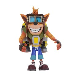 Crash Bandicoot figurine Deluxe Crash with Jetpack 14 cm