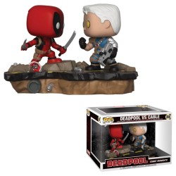 Deadpool pack 2 POP! Movie Moments Vinyl Bobble Head Deadpool vs. Cable 9 cm