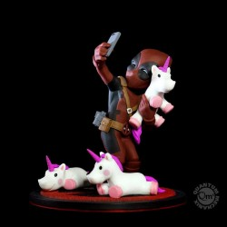 Marvel diorama Q-Fig Deadpool //unicornselfie 10 cm