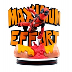 Marvel diorama Q-Fig MAX Deadpool Maximum Effort 14 cm