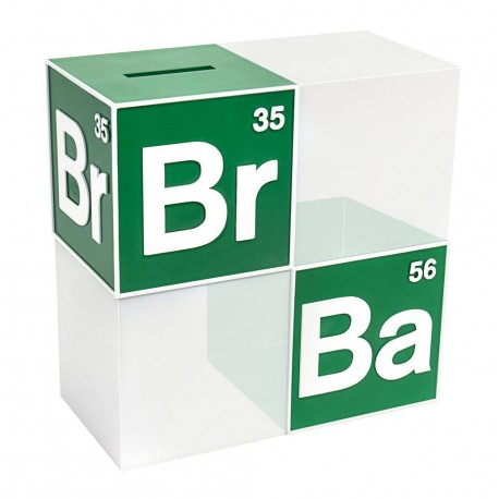 Breaking Bad tirelire / serre-livre BrBa Logo