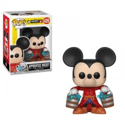 Mickey Maus 90th Anniversary Figurine POP! Disney Vinyl Apprentice Mickey 9 cm