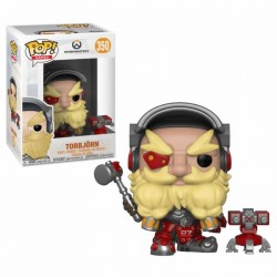 Overwatch Figurine POP! Games Vinyl Torbjörn 9 cm