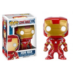 Captain America Civil War POP! Vinyl Bobble Head Iron Man 10 cm