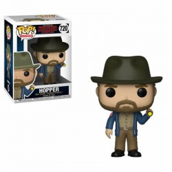 Stranger Things POP! TV Vinyl figurine Hopper & Flashlight 9 cm