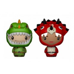 Fortnite pack 2 figurines Pint Size Heroes Rex & Tricera Ops 6 cm