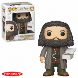 Harry Potter Super Sized POP! Movies Vinyl Figurine Hagrid with Cake 14 cm