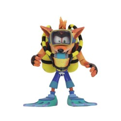 Crash Bandicoot figurine Deluxe Scuba Crash 14 cm