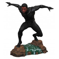 Black Panther Marvel Movie Gallery statuette Black Panther Unmasked 23 cm