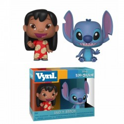 Lilo & Stitch pack 2 VYNL Vinyl figurines Lilo & Stitch 10 cm