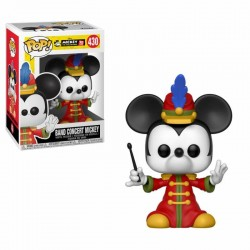 Mickey Maus 90th Anniversary Figurine POP! Disney Vinyl Band Concert 9 cm