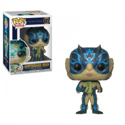 La Forme de l'eau Figurine POP! Movies Vinyl Amphibian Man w/ Card 9 cm