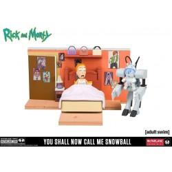 Rick et Morty jeu de construction Medium You Shall Now Call Me Snowball