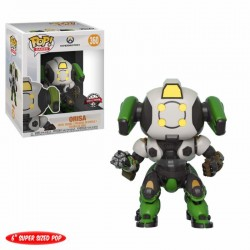 Overwatch Super Sized POP! Games Vinyl figurine Orisa OR-15 Skin GameStop Exclusive 15 cm