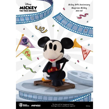 Mickey Mouse 90th Anniversary figurine Mini Egg Attack Magician Mickey 9 cm