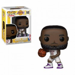 NBA POP! Sports Vinyl Figurine LeBron James White Uniform (Lakers) 9 cm