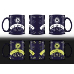 Harry Potter mug Glow In The Dark Lumos