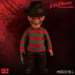 Nightmare On Elm Street figurine parlante Mega Scale Freddy Krueger 38 cm