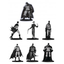 Batman Black & White pack 7 figurines PVC Box Set n°3 10 cm
