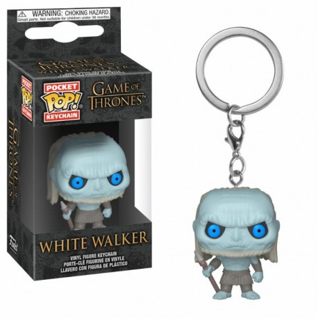 Le Trône de fer porte-clés Pocket POP! Vinyl White Walker 4 cm