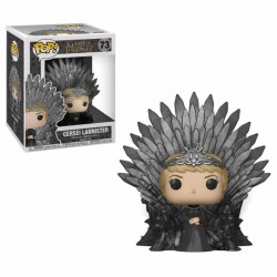 Le Trône de Fer POP! Deluxe Vinyl figurine Cersei Lannister on Iron Throne 15 cm