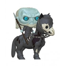 Le Trône de fer POP! Rides Vinyl figurine White Walker on Horse 15 cm