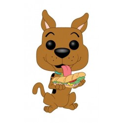 Scooby Doo Figurine POP! Animation Vinyl Scooby Doo w/ Sandwich 9 cm