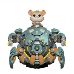 Overwatch Oversized POP! Games Vinyl Figurine Wrecking Ball 15 cm