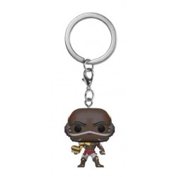 Overwatch porte-clés Pocket POP! Vinyl Doomfist 4 cm