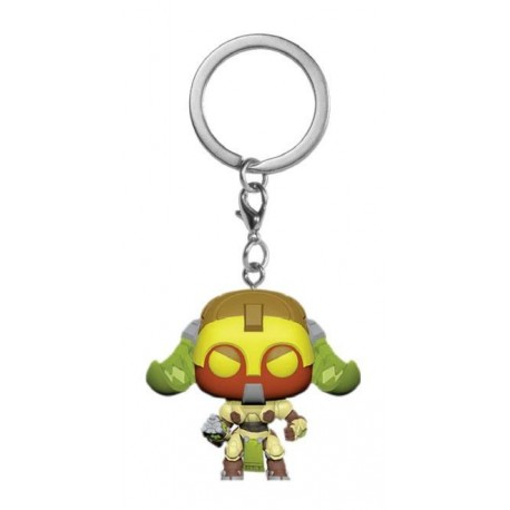 Overwatch porte-clés Pocket POP! Vinyl Orisa 4 cm