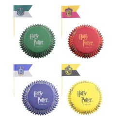 Harry Potter assortiment caissettes en papier pour muffin (96)