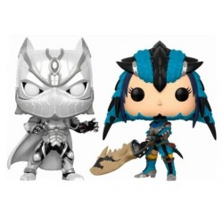 Marvel vs. Capcom Infinite POP! Games Vinyl pack 2 figurines Black Panther vs. Monster Hunter 9 cm