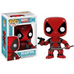 Marvel Comics POP! Vinyl Bobble Head Deadpool 10 cm