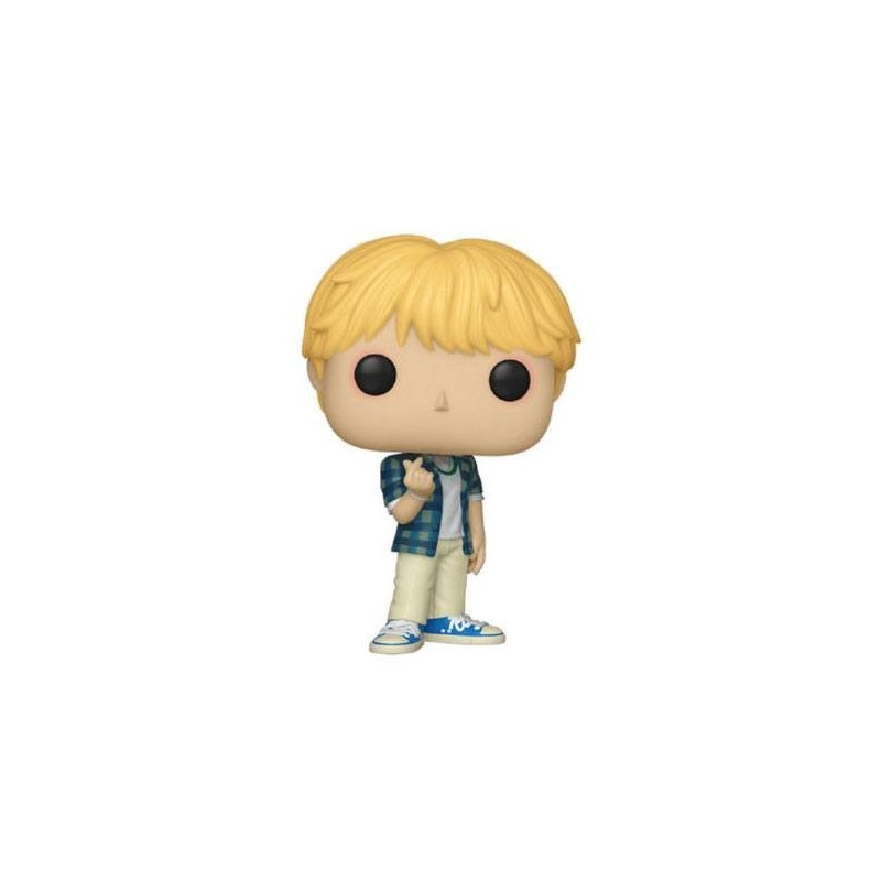 Bts Pop Rocks Vinyl Figurine Jin 9 Cm Les Goodies