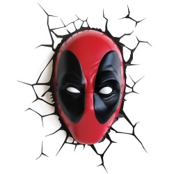 Marvel lampe 3D LED Deadpool